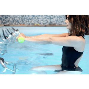 positionnement bras aquabiking