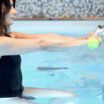 haltère-aquabike