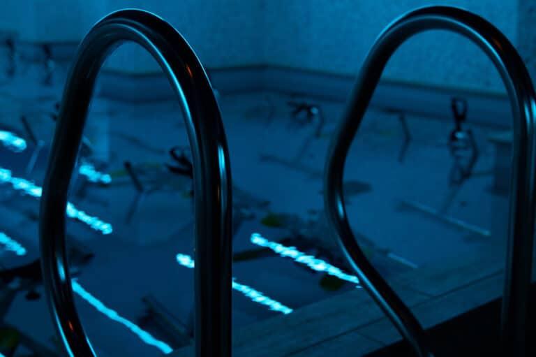 Image du bassin d'aquabike du studio Aqua by situé à Boulogne