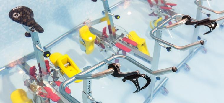 Une piscine dédié uniquement à l'aquabiking à Paris 11 !