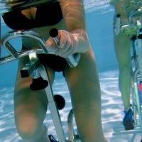 Les différentes positions en aquabike